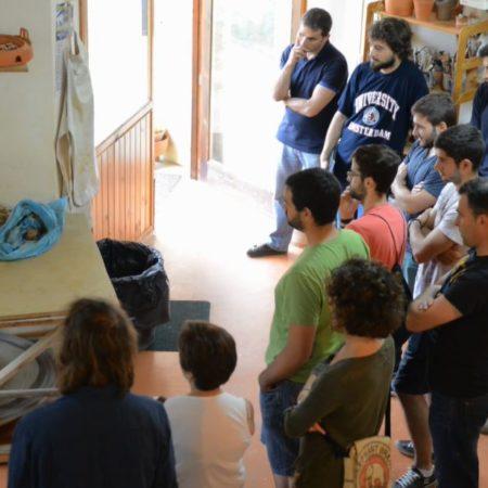 Campus vivencial de emprendemento sostible nas reservas da biosfera. Artesanía